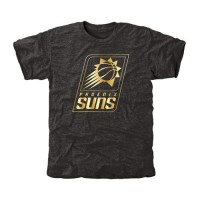 Phoenix Suns Gold Collection Tri-Blend T-Shirt Black