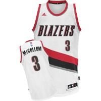 Portland Trail Blazers #3 C.J. McCollum Home White New Swingman Jersey