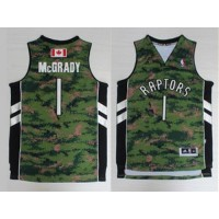 Raptors #1 Tracy Mcgrady Camo Pride Stitched NBA Jersey