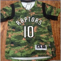 Raptors #10 DeMar DeRozan Camo Pride Stitched NBA Jersey