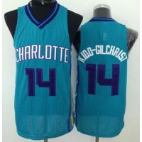 Revolution 30 Hornets #14 Michael Kidd-Gilchrist Light Blue Stitched NBA Jersey
