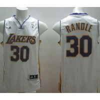 Revolution 30 Lakers #30 Julius Randle White Stitched NBA Jersey