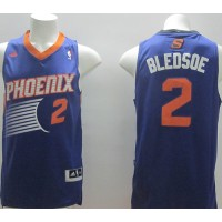 Revolution 30 Suns #2 Eric Bledsoe Purple Stitched NBA Jersey
