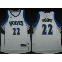 Revolution 30 Timberwolves #22 Andrew Wiggins White Stitched NBA Jersey