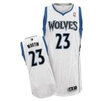 Revolution 30 Timberwolves #23 Kevin Martin White Stitched NBA Jersey