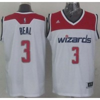 Revolution 30 Wizards #3 Bradley Beal White Stitched NBA Jersey