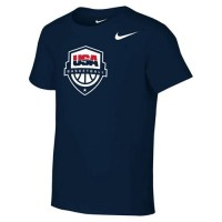 Team USA Nike Preschool Core Cotton T-Shirt Navy