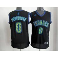 Thunder #0 Russell Westbrook Black Camo Fashion Stitched NBA Jersey