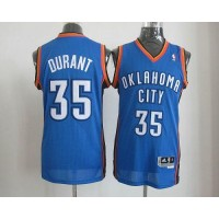Thunder #35 Kevin Durant Blue Revolution 30 Stitched NBA Jersey