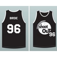 Tournament Shoot Out #96 Birdie Black Stitched Basketball Jersey