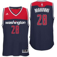Washington Wizards #28 Ian Mahinmi Alternate Navy New Swingman Jersey