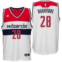 Washington Wizards #28 Ian Mahinmi Home White New Swingman Jersey