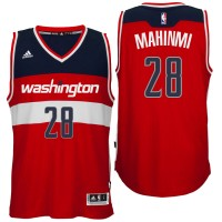Washington Wizards #28 Ian Mahinmi Road Red New Swingman Jersey