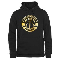 Washington Wizards Gold Collection Pullover Hoodie Black