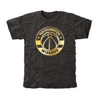 Washington Wizards Gold Collection Tri-Blend T-Shirt Black