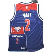 Wizards #2 John Wall Navy Blue Alternate Stitched NBA Jersey