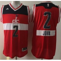 Wizards #2 John Wall Red 2014-15 Christmas Day Stitched NBA Jersey