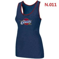 Women's NBA Cleveland Cavaliers Big & Tall Primary Logo Tank Top Blue