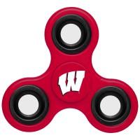 Wisconsin Badgers 3-Way Fidget Spinner