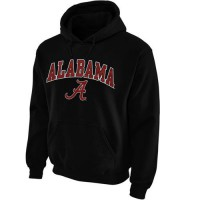 Alabama Crimson Tide Midsize Arch Pullover Hoodie Black