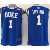 Blue Devils #1 Kyrie Irving Blue Basketball New Stitched NCAA Jersey