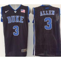 Blue Devils #3 Grayson Allen Black Basketball Stitched NCAA Jersey