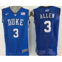 Blue Devils #3 Grayson Allen Royal Blue Basketball New Stitched NCAA Jersey