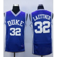 Blue Devils #32 Christian Laettner Royal Blue Basketball Stitched NCAA Jersey