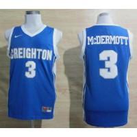 Bluejays #3 Doug McDermott Light Blue Basketball Stitched NCAA Jersey