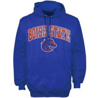 Boise State Broncos Arch Over Logo Hoodie Royal