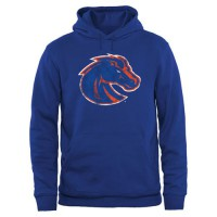 Boise State Broncos Big & Tall Classic Primary Pullover Hoodie Royal
