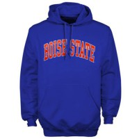 Boise State Broncos Bold Arch Hoodie Royal Blue