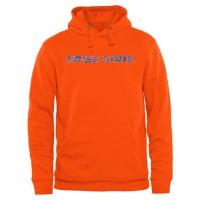 Boise State Broncos Classic Wordmark Pullover Hoodie Orange