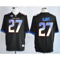 Broncos #27 Jay Ajayi Black Stitched NCAA Jersey