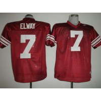 Cardinal #7 John Elway Red Stitched NCAA Jersey
