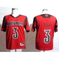 Cardinals #3 Peyton Siva Red Basketball Stitched NCAA Jersey