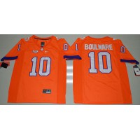 Clemson Tigers #10 Ben Boulware Orange Limited Stitched NCAA Jersey