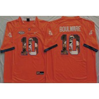 Clemson Tigers #10 Ben Boulware Orange Player Fashion Stitched NCAA Jersey