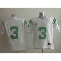 Dame #3 Joe Montana White Stitched NCAA Jersey