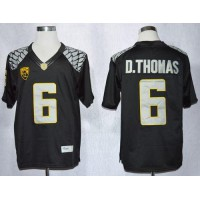 Ducks #6 De'Anthony Thomas Black Limited Stitched NCAA Jersey