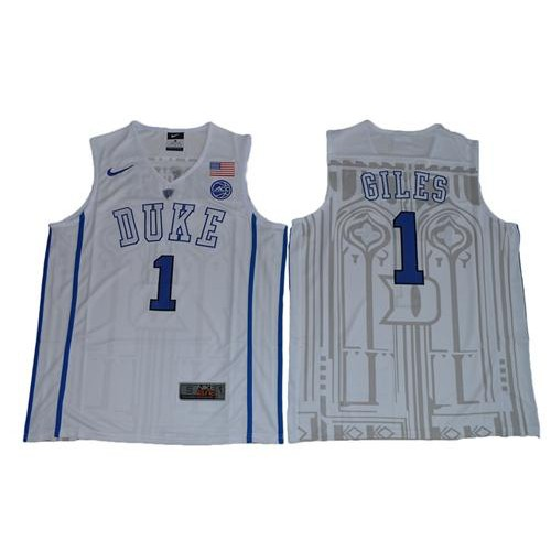 8e3bc0c75b9 ... discount duke blue devils 1 harry giles white basketball elite stitched  ncaa jersey 7c58b c6b81