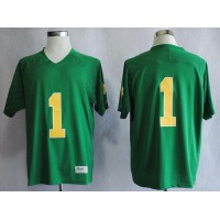 Fighting Irish #1 Louis Nix III Green Stitched NCAA Jersey