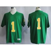 Fighting Irish #1 Louis Nix III Green Stitched NCAA Jersey
