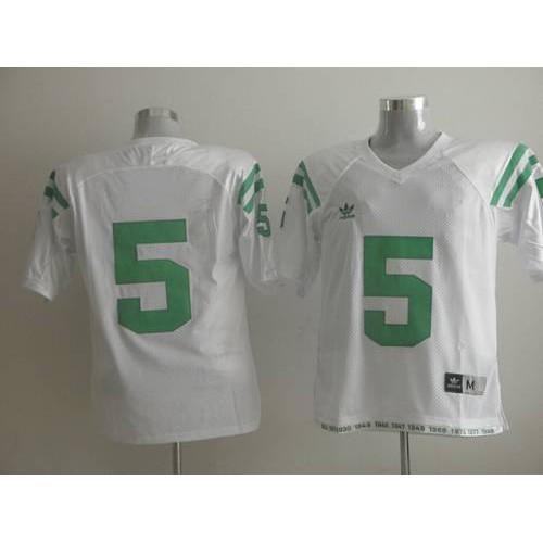 130582df2 Fighting Irish  5 Everett Golson White Under The Lights Stitched NCAA Jersey