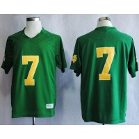Fighting Irish #7 Stephon Tuitt Green Stitched NCAA Jersey