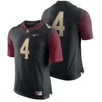 Florida State Seminoles #4 Black Limited Football Team Color Jersey