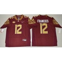 Florida State Seminoles #12 Deondre Francois Red Limited Stitched NCAA Jersey