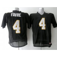 Golden Eagles #4 Brett Favre Black Stitched NCAA Jersey