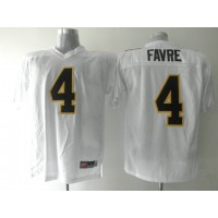 Golden Eagles #4 Brett Favre White Stitched NCAA Jersey