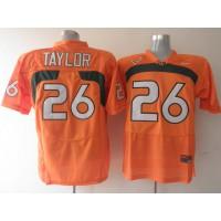 Hurricanes #26 Sean Taylor Orange Stitched NCAA Jerseys